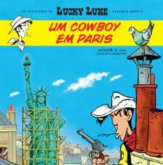 Novo livro do Lucky Luke - Um Cowboy em Paris já nas livrarias